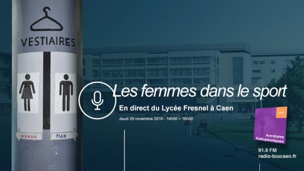 Les femmes dans le sport, en direct au lycée Fresnel