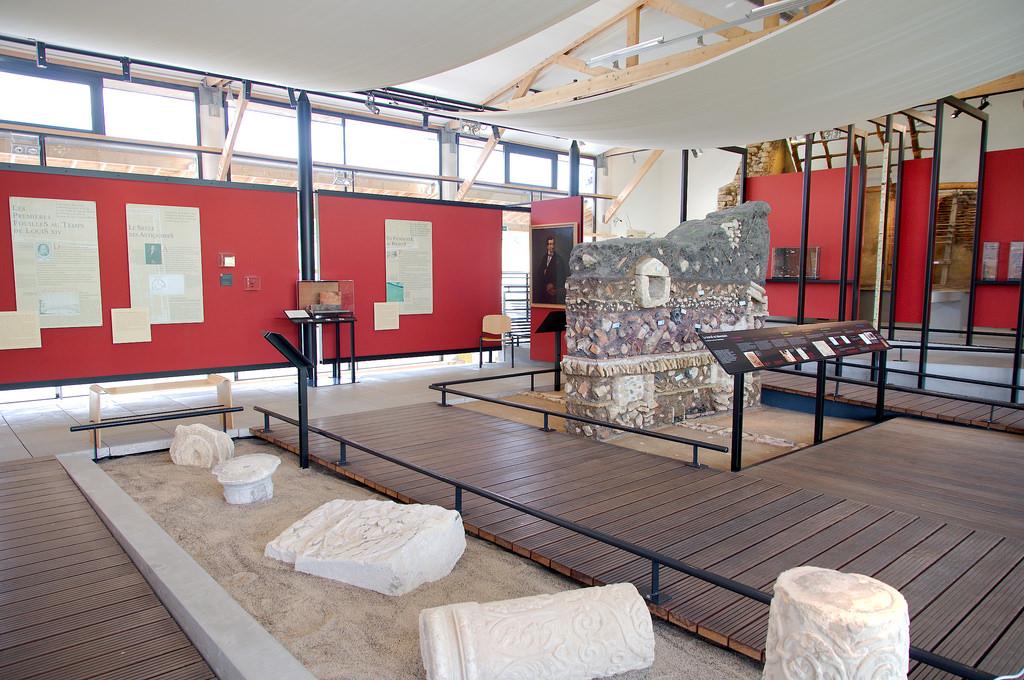 Le musée archéologique de Vieux-la-Romaine