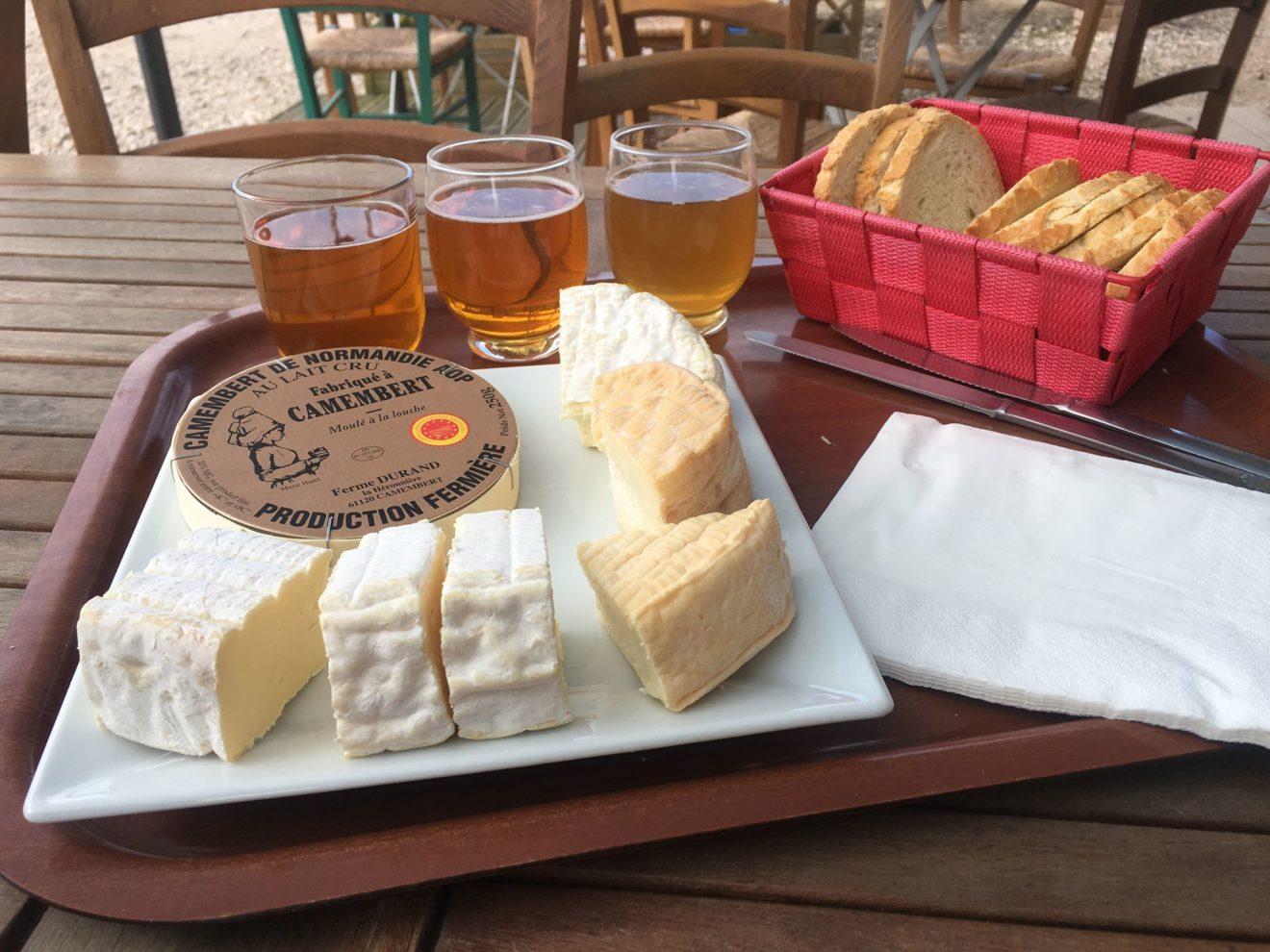 La Normandie, terre de fromages
